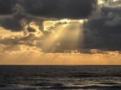 Cannon Beach Sunset God Rays