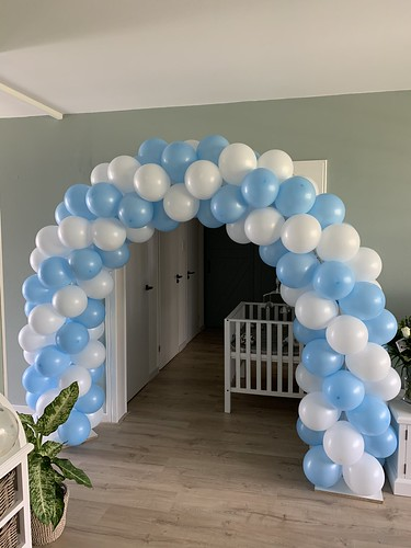 Ballonboog 5m Geboorte Baby Jongen