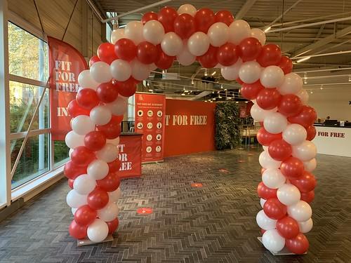 Ballonboog 6m Opening FIT FOR FREE Spijkenisse
