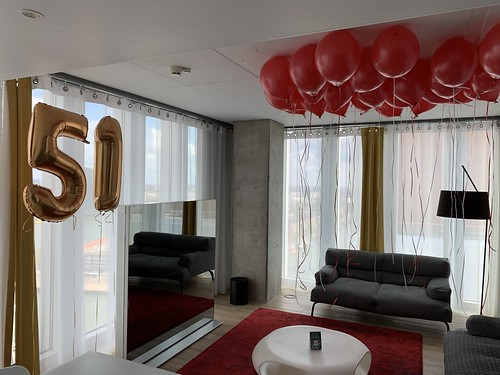 Heliumballonnen Huwelijksaanzoek NHOW Hotel Rotterdam