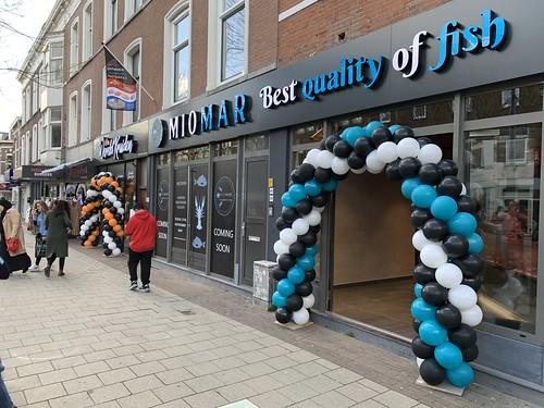 Ballonboog 6m Opening Viswinkel Miomar Rotterdam