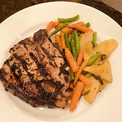 Porterhouse pork chop from FARMER TLO