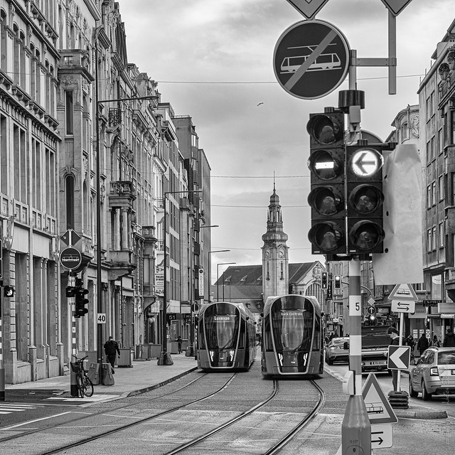 Tram #Sigma85mmArt #CanonPhotography