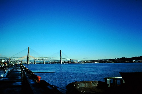 New Westminster Bridge and the Skytrain Bridge, Vancouver