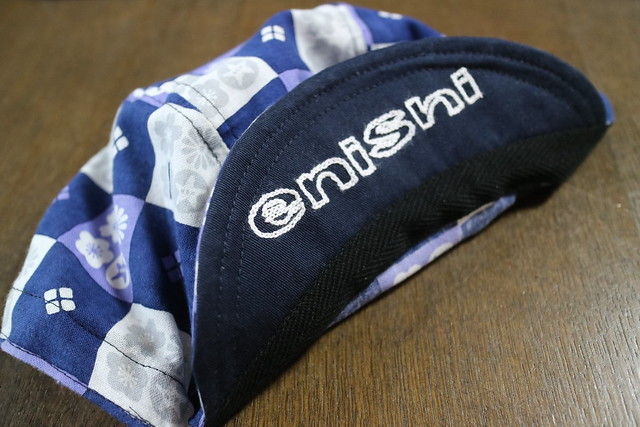 Photo:【 enishi cyclecap 市松四季の花 / Ichimatsu shiki no hana + enishi chain stitch 】 By jun.skywalker (enishi hand made cyclecap)