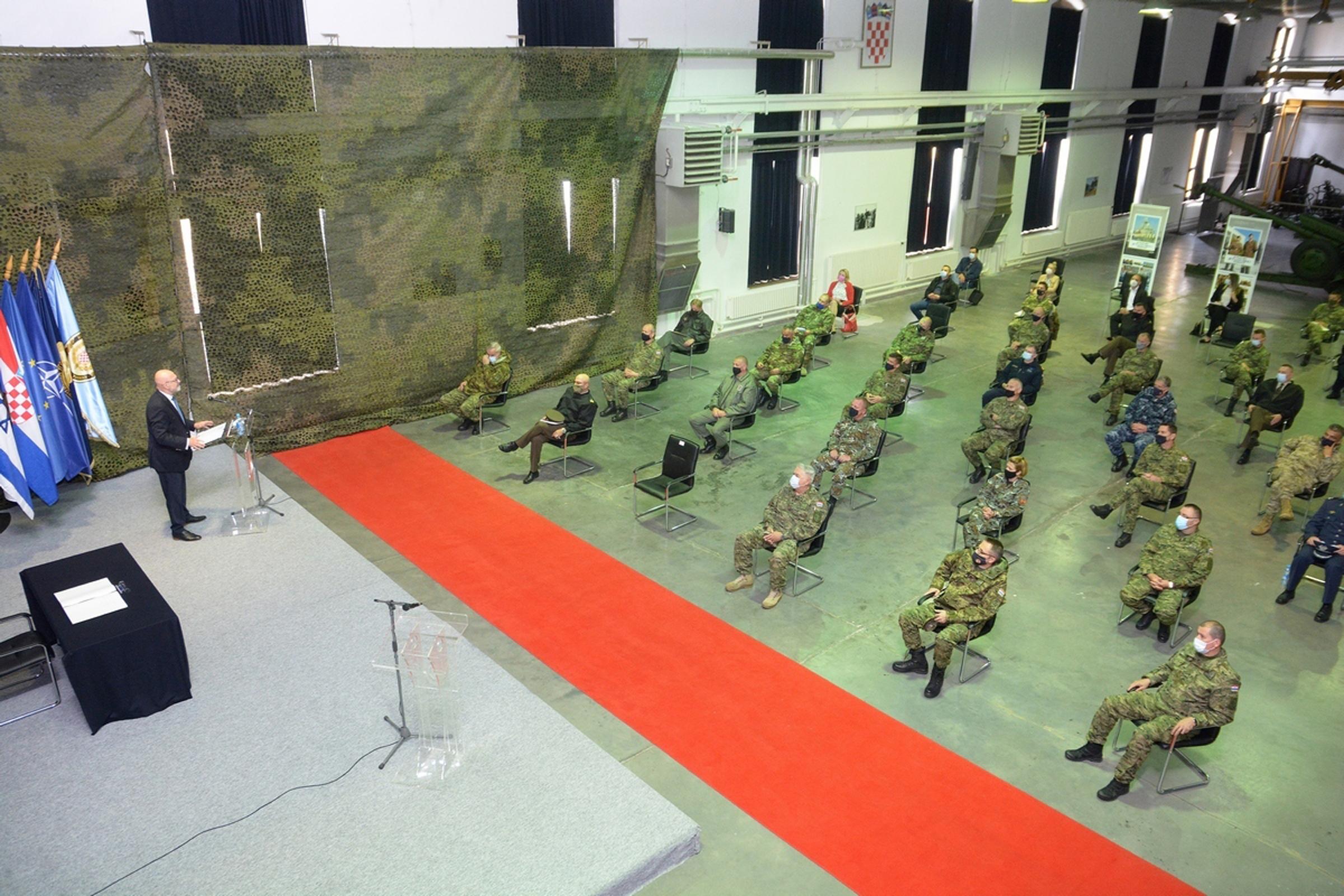 Veleposlanik Države Izrael održao predavanje polaznicma Ratne škole za objavu