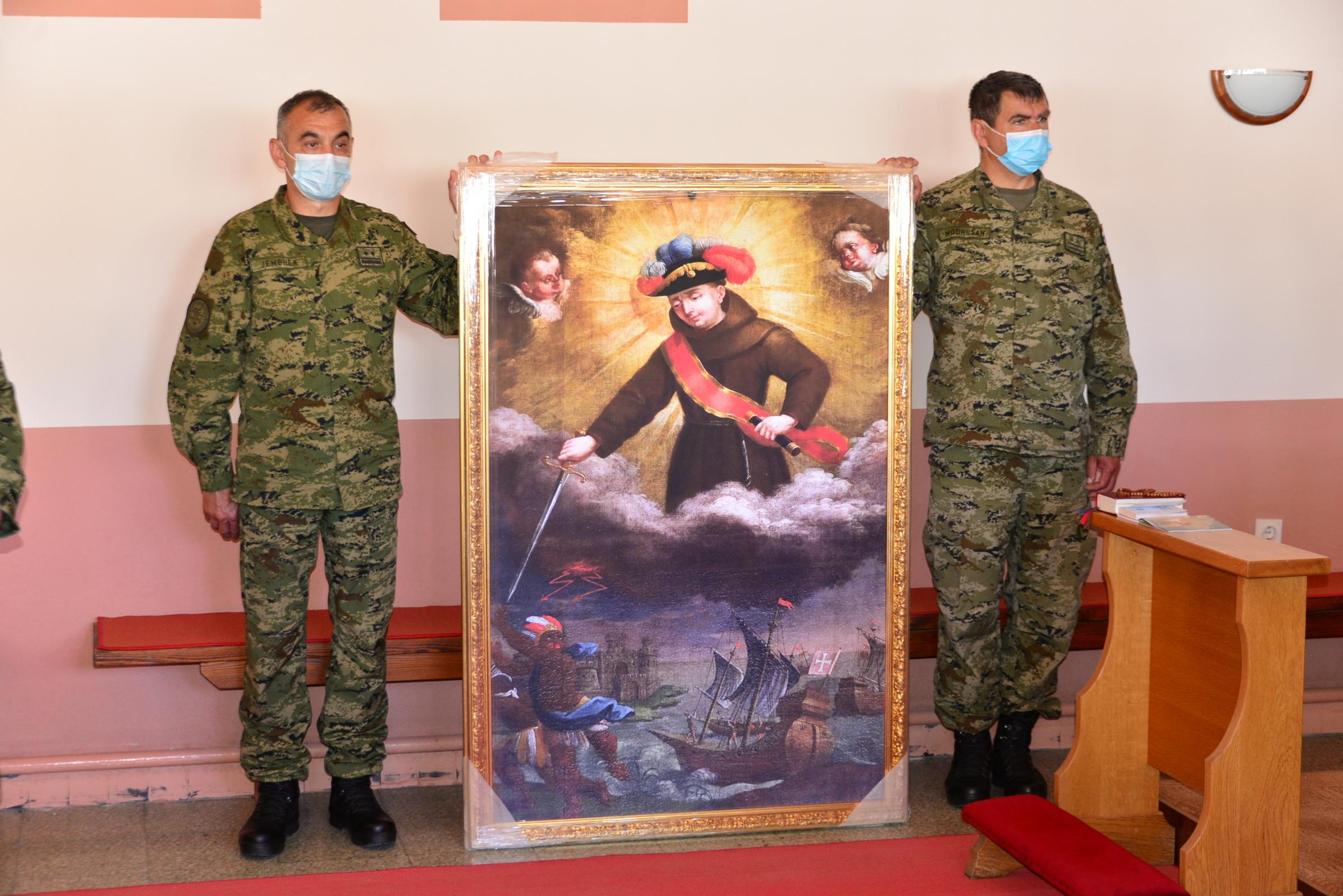 Zapovjedništvo za potporu i Pukovnija vojne policije obilježili 30. obljetnicu Hrvatske vojske