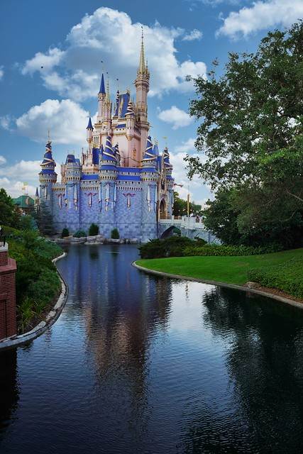 Photo:Cinderella's Castle at the Magic Kingdom in Disney World By Steve Carr Photography