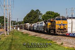 UP 7998 | GE AC45CCTE | NS Memphis District West End