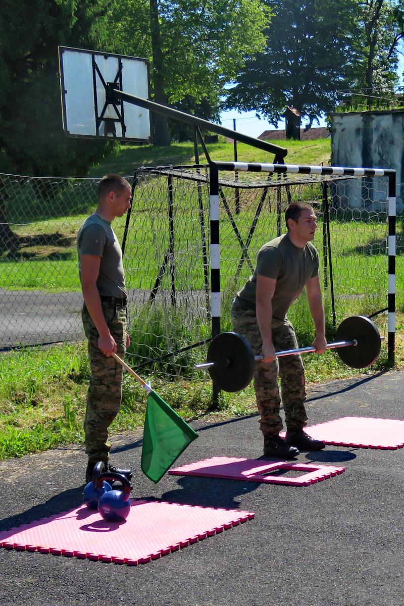 Sportski dan u Topničko raketnoj pukovniji