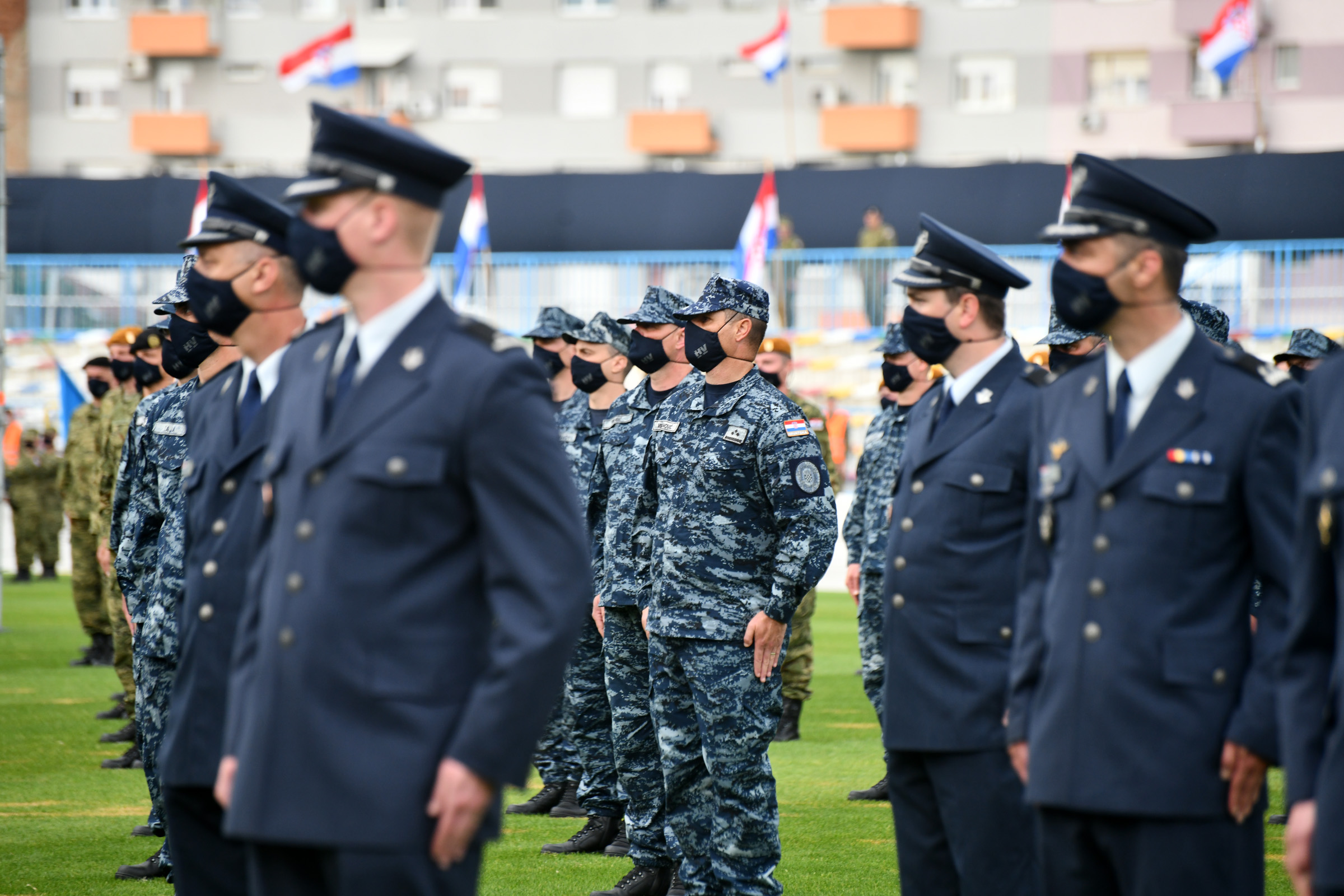 Svečanim postrojavanjem obilježena 30. obljetnica Hrvatske vojske