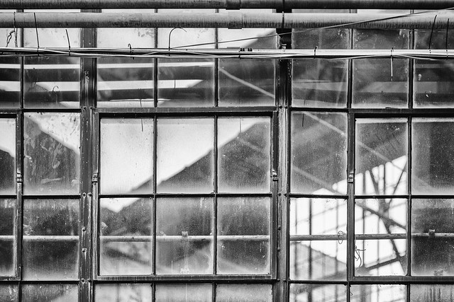 Photo:Reflecting on gritty industrial lines By sniggie