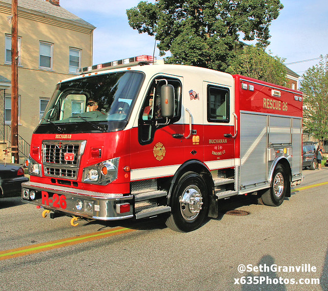 Photo:Buchanan Fire Department Rescue 26 By Seth Granville