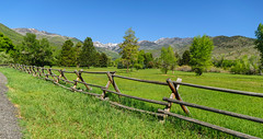 Fenced Mountain Vista