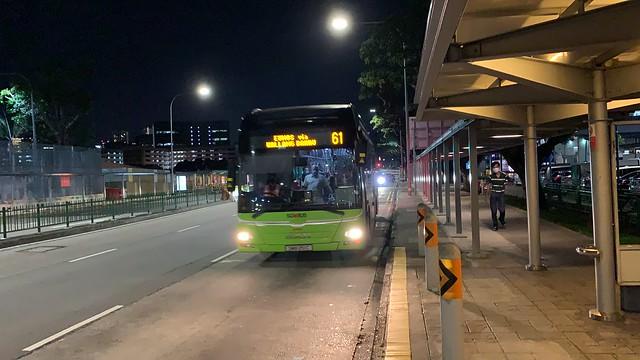 SMRT Buses - MAN NL323F A22 (Batch 1) SMB251C on Service 61