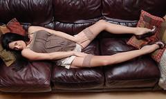 Alicia Dwyer Nylon Stockings 7