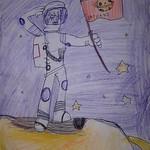 006 - Astronauta su Saturno di Umberto 7 anni