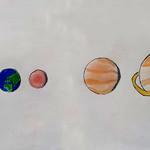 094 - Disegno Pianeti di Andrea 11 anni