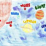 009 - Il Sistema Solare di Anna Lia 12 anni