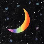 022 - Luna colorata di Giulia 12 anni