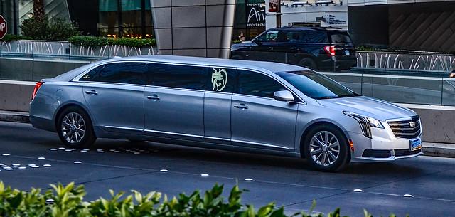 Photo:Limousine at the ARIA Resort & Casino By TDelCoro