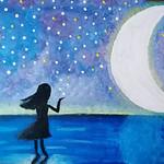 073 - La vista delle stelle mi fa sognare di Sara 11 anni