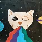066 - Gatto spaziale di Noemi 12 anni
