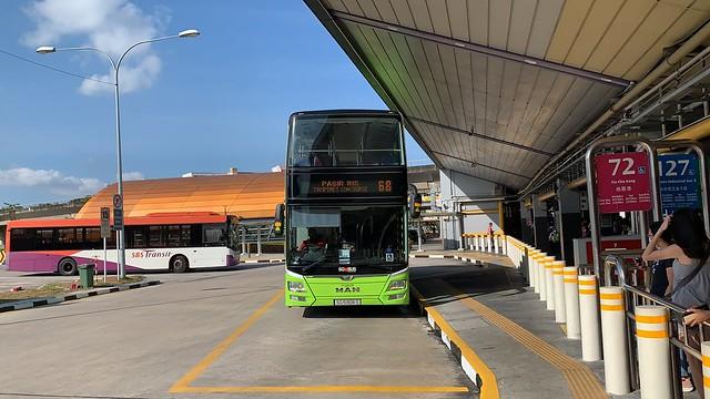Go-Ahead Singapore - MAN A95 (Batch 3) SG5906S on Service 68