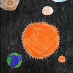 063 - Cielo stellato di Luca 10 anni