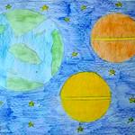 064 - Pianeti e stelle di Micol Maria 6 anni