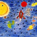 069 - Esplorazione dello Spazio di Giada 6 anni