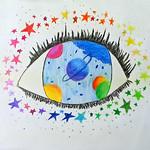 017 - La galassia nei tuoi occhi di Roberta 11 anni