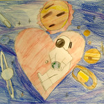 084 - I love Heart di Riccardo 11 anni