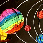 003 - Com'è il Sistema Solare per me di Michela 13 anni
