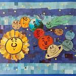 014 - Il Sole, la Luna e i Pianeti  di Chiara Francesca 12 anni