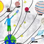 099 - Il Sistema Solare di Renato 10 anni