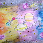028 - Una passeggiata nello spazio di Francesco 11 anni