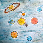 035 - Il Sistema Solare di Andrea 12 anni