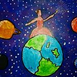 081 - La danza dei pianeti di Martina 11 anni