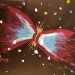025 - Galassia Farfalla di Nicolò 10 anni