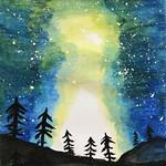 023 - L'aurora boreale - Maurizio - 10 anni