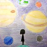 033 - Guardando il Sistema Solare di Marta 11 anni