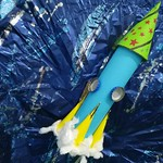 041 - Nello Spazio con il razzo di Ylenia 8 anni_a