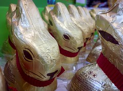 Chocolate Bunny Army