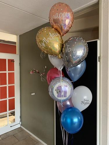 Ballonboeket Verjaardag 21 Jaar