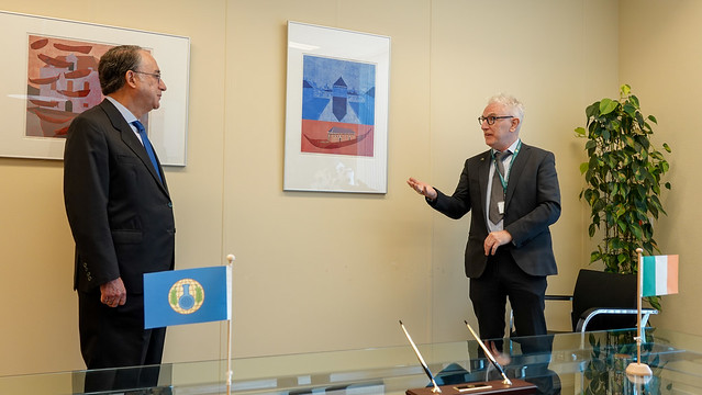 Photo:Ireland contributes €100,000 to OPCW's Trust Fund for Syria Missions By OPCW