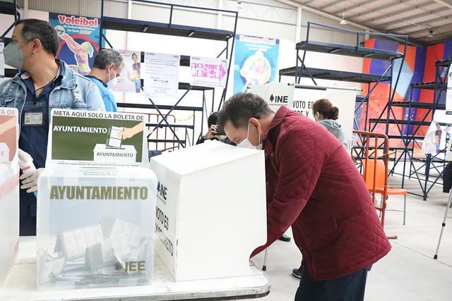 06/06/2021 Votación Del Coordinador Del GPMORENA Diputado Ignacio Mier Velasco