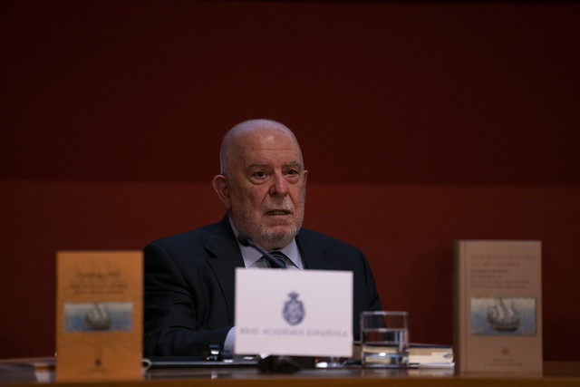 Photo:Juan Gil, académico de la RAE y filólogo By Real Academia Española