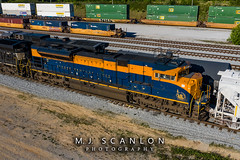 NS 1071 | EMD SD70ACe | NS Rossville Yard