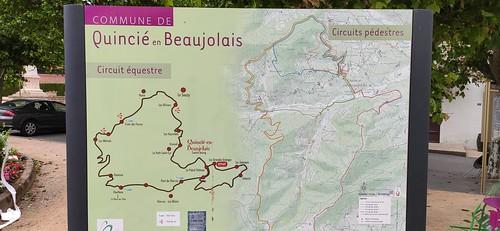 Beaujolais - Randonnée des 3 Châteaux